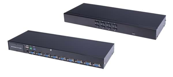 Picture of KVM 8 Port, 19 Zoll, 1HE