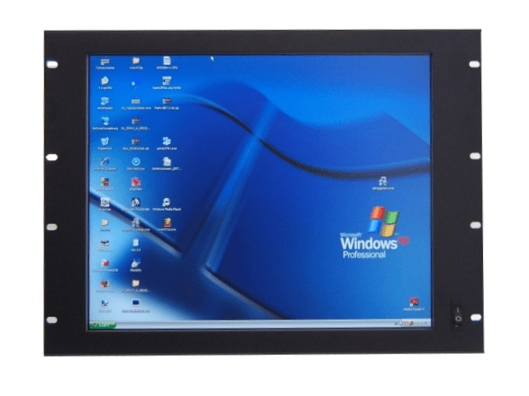 "Picture of 19"" industrial monitor with integrated touch screen"